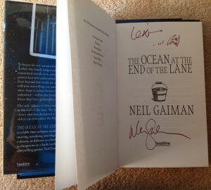 Neil Gaiman signed